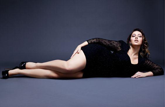 Jada Sezer, Stunning Elegant Curvy Model, Sweeter Than Chocolate