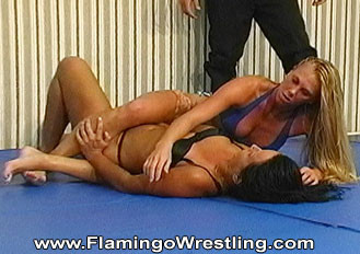 fciwomenswrestling.com article - flamingo wrestling photo credit