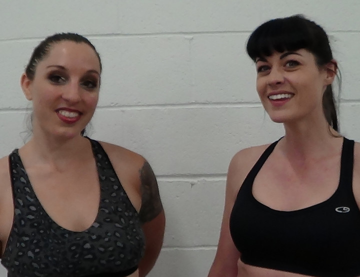 Fem Wrestlers:  Study Shows Exercise Creates Beautiful Skin