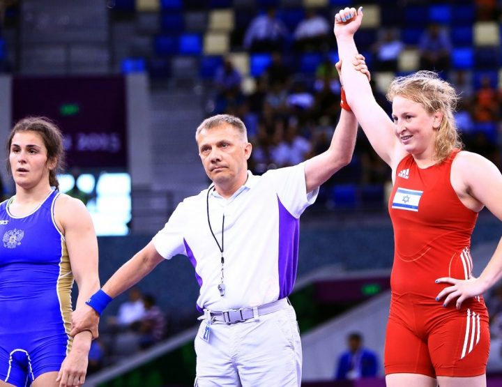 Ilana Kratysh, First Ever Israeli Female Wrestler To Compete At Olympics