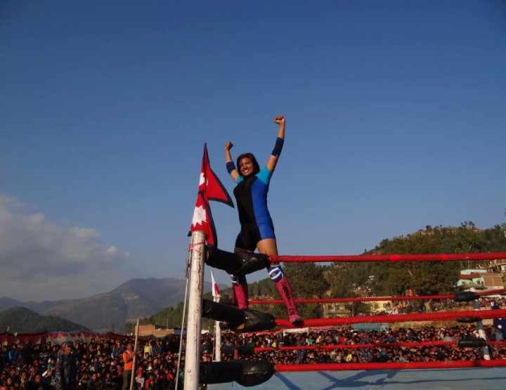 Bhagawati Khadka, First Female Wrestler In Nepal Dreams Big