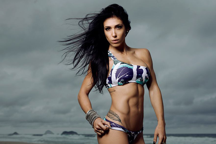 Bella Falconi, Fitness Star, Wears Beauty And Confidence Well