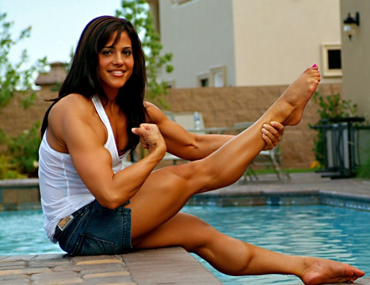 Jennifer Rish, FBB Fitness Princess, Dancer, Muscles To Inspire