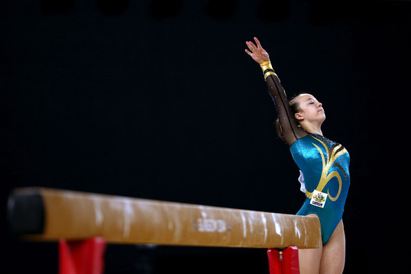Mary Anne Monckton, Artistic Gymnast, Australia, Supreme Dedication
