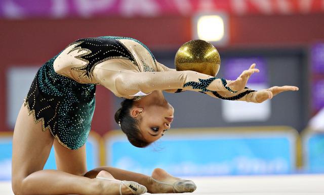 Danielle Prince, Australian Rhythmic Gymnast, Eternally Bright