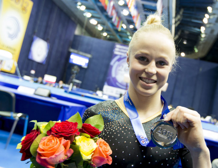 Jonna Adlerteg, Elite Swedish Gymnast, Leaves Us Star Struck