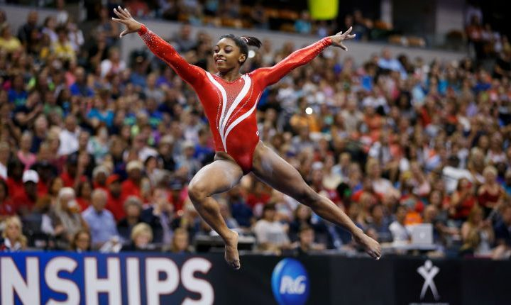 Simone Biles, Young Super Star Gymnast, Captures Global attention.