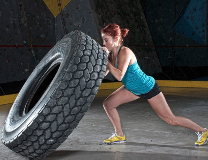 Fem Wrestlers: Should Tire Flipping Be In Your Workout Routine?