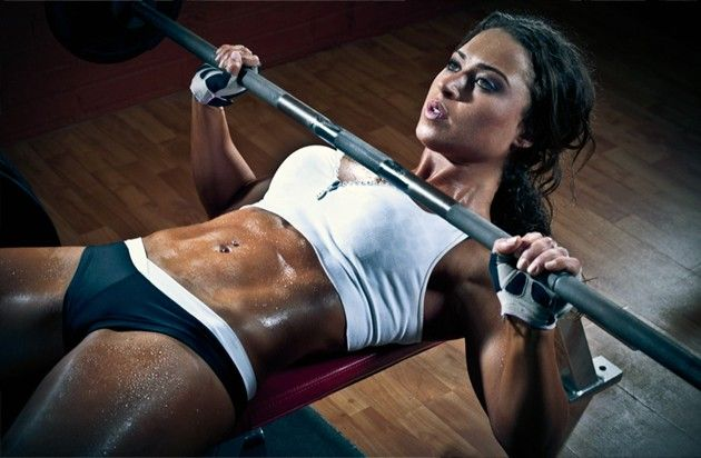 Fem Grapplers, Better Bench Press, Stronger Upper Body,
