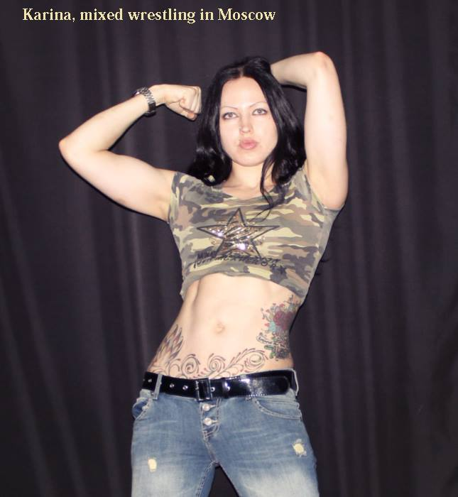 fciwomenswrestling.com article, karina-wrestler.com photo
