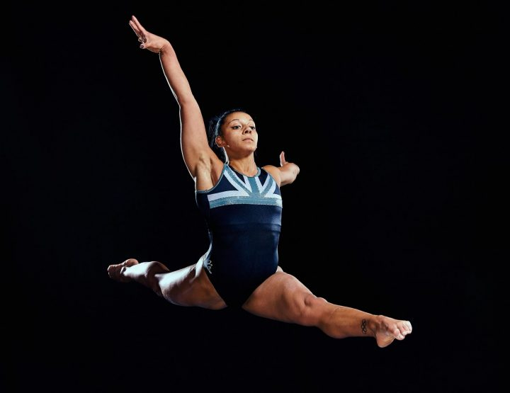 Rebecca Downie, Elite British Gymnast, Double The Strength