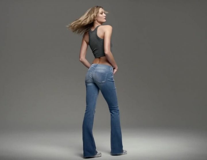 Karlie Kloss, EXPRESS Jeans, Finds The Right Fit For Your Body