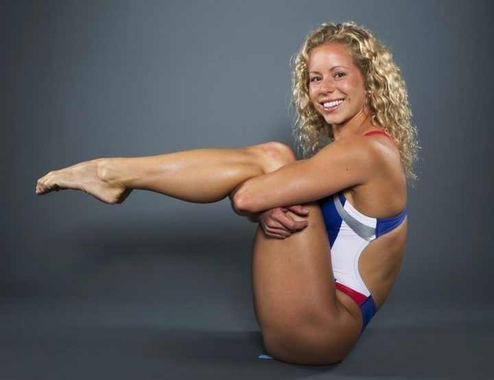 Brittany Viola, NCAA Swimming Champion, Fitness Inspiration