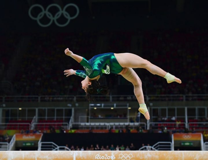Alexa Moreno, Gorgeous Elite Mexican Gymnast, Timeless Memory