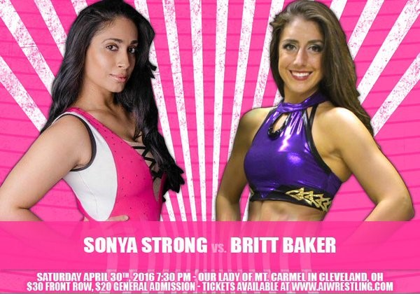 Sonya Strong, New Indie Wrestling Star, Impressive Goals