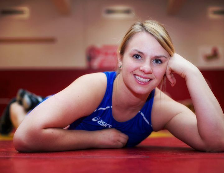Canada's Erica Wiebe, Gold Medal Wrestler, Streaking To Brilliance