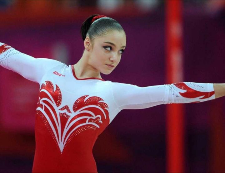 Aliya Mustafina, Russian Gymnast, Golden Smooth Euro Driving Machine