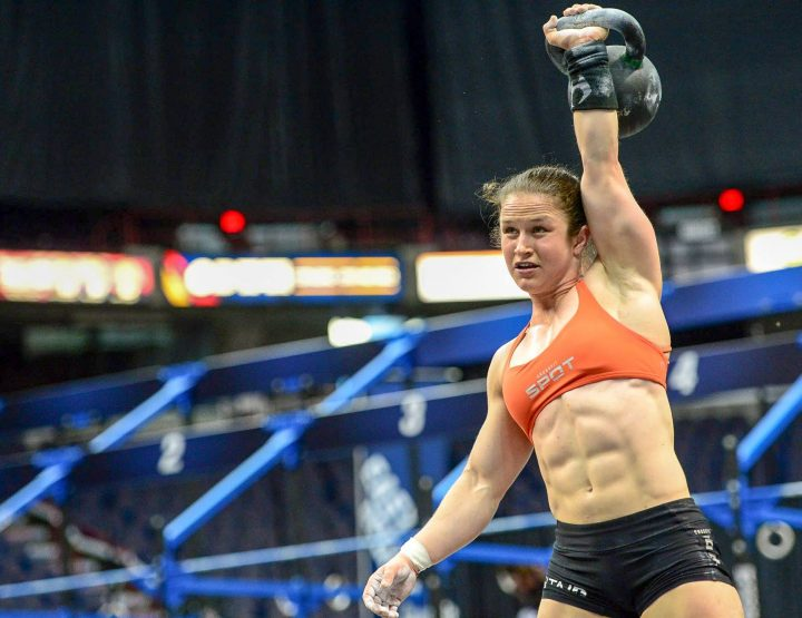 Kari Pearce, Samantha Grace, Different Fem Sports, Both Love CrossFit