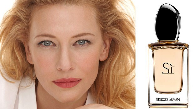 Cate Blanchett, Armani Si Perfume, Good For Her, Great For You