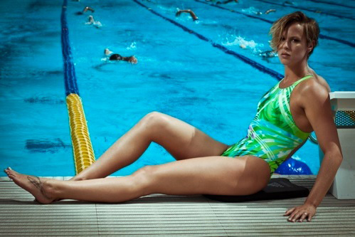 Federica Pellegrini, Olympic Swimmer, Keys To Under Water Magic