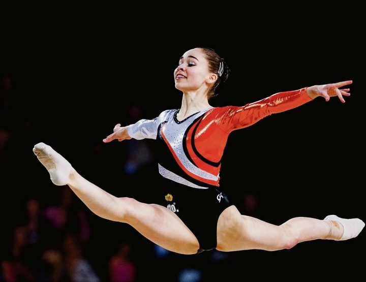 Eythora Thorsdottir, Icelandic Princess, World Class Gymnast