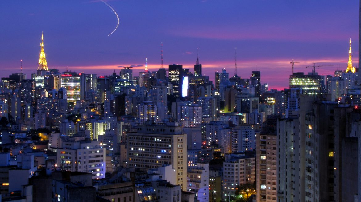 fciwomenswrestling.com article,  São Paulo at night by Júlio Boaro photo credit