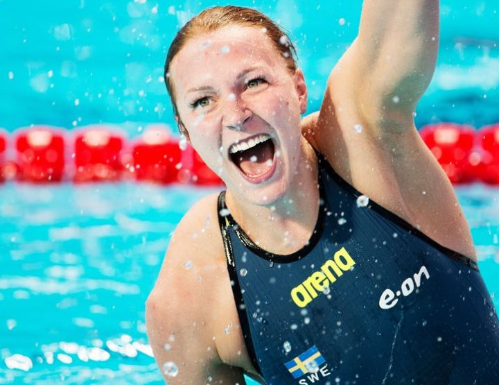 Sarah Sjostrom, Elite Swedish Olympic Swimmer, Golden Looks, Midas Touch