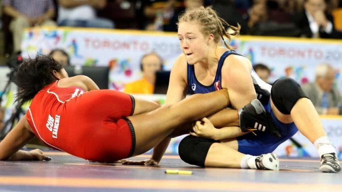 fciwomenswrestling.com article, photo via  Olympic Committee