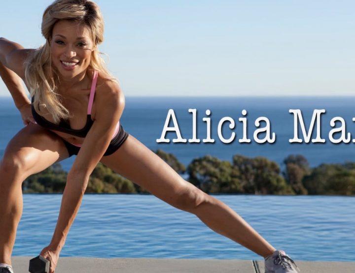 Alicia Marie, Sexy Fitness Super Star, Life Super Heroine