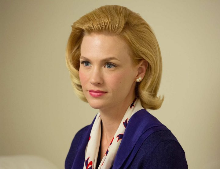 January Jones, Elegant Actress, Versace Model, Hope Springs Eternal
