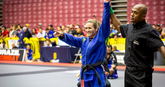 Karen Antunes, Brazilian Jiu Jitsu Champion, Profile In Courage