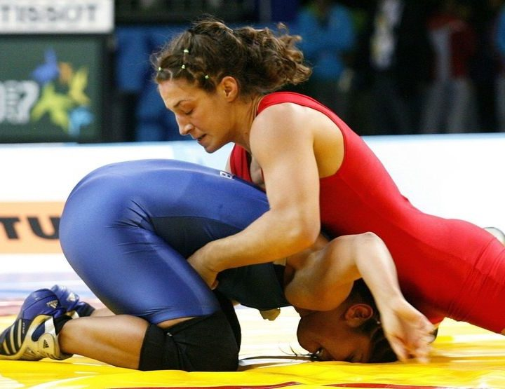 Sara McMann, Super Heroine Of The MMA, Freestyle Wrestling World