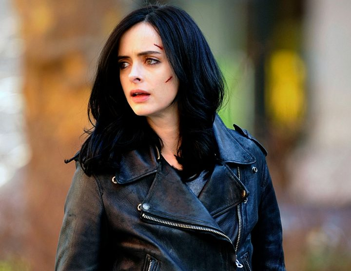 Jessica Jones, Watching Her Is Addictive (Leather Jacket - Jeans Required)