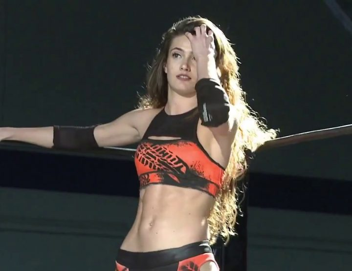 Amber Nova, Sparkling Indie Wrestler, Classic Star In Motion