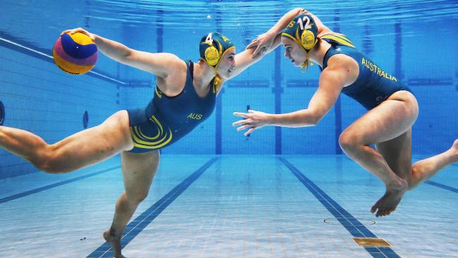 Australia's Womens Water Polo Team, As Formidable As The Outback