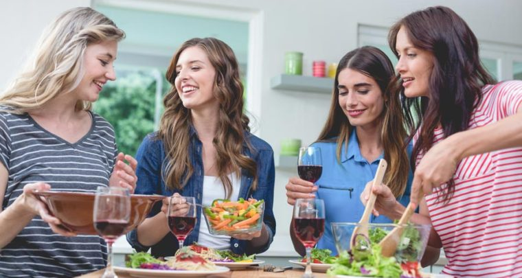 Ladies, Enjoy Mocktails, A Fun Party Without The Alcohol