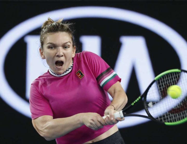 Number One Simona Halep Survives 2019 Australian Open First Round