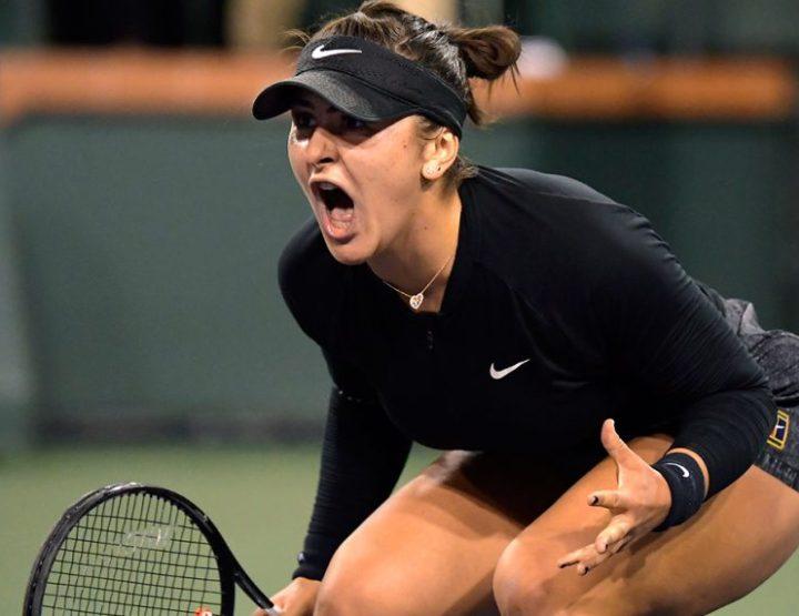Canada's Bianca Andreescu, Screaming Hot Streak