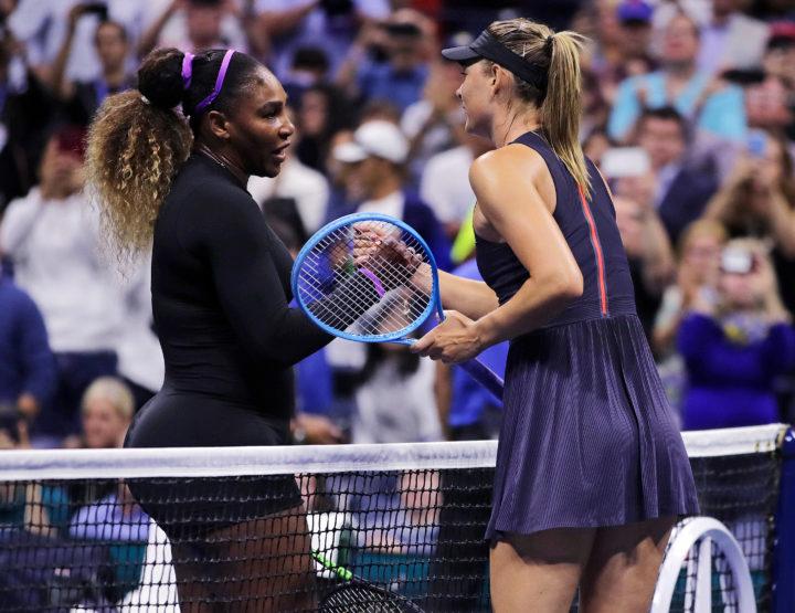 2019 US Open, 1st Round, Serena Decimates Maria Sharapova