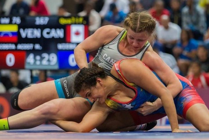 Women's Wrestling Scholarships Trending Up